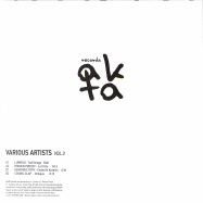 Back View : Various Artists - VARIOUS ARTISTS VOL 3 (180G VINYL ONLY) - AKTA Records / AKR03