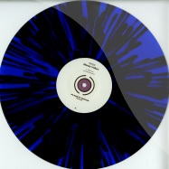 Front View : Alexey Volkov - DUST (BLACK / BLUE SPLATTERED VINYL) - Planete Rouge / PLR1202