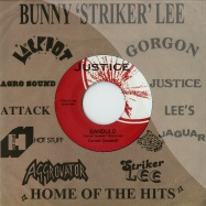 Front View : Cornell Campbell - BANDULO (7 INCH) - Justic / agg06