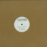 Front View : Champion + Four Tet - FLIP SIDE / DISPARATE - Text Records / TEXT039