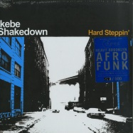 Front View : Ikebe Shakedown - HARD STEPPIN (LP, COLOURED VINYL) - Colemine / CLMN12004