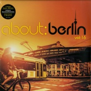 Front View : Various Artists - ABOUT BERLIN 16 (4X12 LP + MP3) - Universal / 5375982