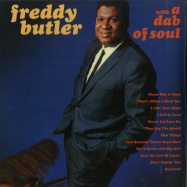 Front View : Freddy Butler - WITH A DAB OF SOUL (LP) - Everland / EVERLAND040LP