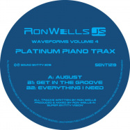 Front View : Ron Wells - WAVEFORMS IV, PLATINUM PIANO TRAX - Sound Entity / SENT1219