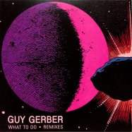 Front View : Guy Gerber - WHAT TO DO REMIXES (&ME / DJ JES REMIXES) (CLEAR VINYL / REPRESS) - Rumors / RMS015CLEAR