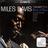 Front View : Miles Davis - KIND OF BLUE (CLEAR LP + MP3) - Sony Music / 19439802191