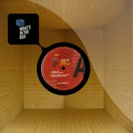 Front View : Volta Cab - ALWAYS IN THE PLACE - Whats In The Box Records / WITB006