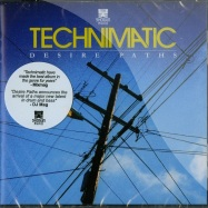 Front View : Technimatic - DESIRE PATHS (CD) - Shogun Audio / shacd009