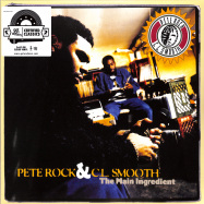 Front View : Pete Rock & C.L. Smooth - THE MAIN INGREDIENT (CLEAR 2X12 LP) - Get On Down  / get52724lp