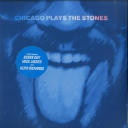 Front View : Various Artists - CHICAGO PLAYS THE STONES (BLUE 2LP) - Chicago Blues Experience / CBE1701LP / 8708265