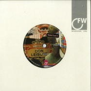 Front View : Don Leisure - SHABOO VS. HALAL COOL J (7 INCH) - First Word Records / FW187