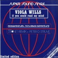 Front View : Viola Wills - IF YOU COULD READ MY MIND - High Fashion Music / MS 477