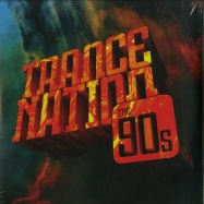 Front View : Various - TRANCE NATION - THE 90S (LTD 4LP, B-STOCK) - Kontor Records / 1021954KON