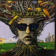 Front View : Bob Dylan & Friends - DECADES LIVE... 62-94 (180G LP + POSTER) - Roxvox / ROXVLP 2072