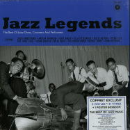 Front View : Various Artists - JAZZ LEGENDS BOX (3LP BOX + POSTER) - Wagram / 3369336 / 05179731