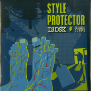 Front View : Dj Dsk, Matman, Dj Koncept And Menace - STYLE PROTECTOR (COLOURED 7 INCH) - Dna / DNA-005