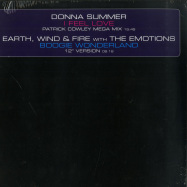Front View : Donna Summer / Earth, Wind & Fire - I FEEL LOVE / BOOGIE WONDERLAND (LIMITED ED) - Universal / 5389337