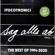 Front View : Tocotronic - SAG ALLES AB - BEST OF 1994-2020 (LTD 180G 3LP BOX) - Vertigo Berlin / 0719340