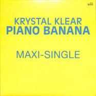 Front View : Krystal Klear - PIANO BANANA - Running Back / RB101