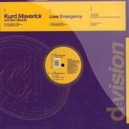 Front View : Kurd Maverick & Sam Obernik - LOVE EMERGENCY - D:Vision  / dv653