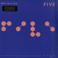 Front View : White Lies - FIVE (LTD BLUE 180G LP + MP3) - PIAS / PIASR445LPX / 39295701