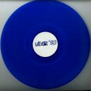 Front View : Unknown - THE DANCE EP (BLUE VINYL) - Vibez 93 / VIBEZ93002