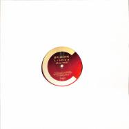 Front View : Brudan - LISBOA (BLACK REPRESS) - Cabinet Records / Cab57_black