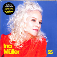 Front View : Ina Müller - 55 (LTD COLOURED 2LP PHOTO-BOOK) - Columbia / 19439814001