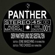 Front View : Der Panther und die Gestalten - EINE MASCHINE - Panther Schallplatten / DERPANTHER001