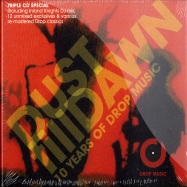 Front View : Various Artists - DUST TILL DAWN - 10 YEARS OF DROP MUSIC (3CD) - Drop Music / DROPCD003