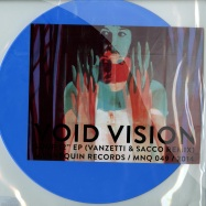 Front View : Void Vision - SOUR (VANZETTI & SACCO REMIX) (BLUE MARBLED VINYL) - Mannequin / MNQ 049
