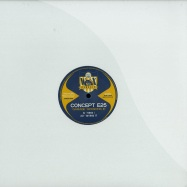 Front View : Concept E25 - GARAGE SESSION III (VINYL ONLY) - Wax Classic / WXC015