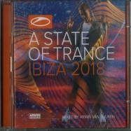 Front View : Armin Van Buuren - A STATE OF TRANCE - IBIZA 2018 (2XCD) - Armada / ARMA455