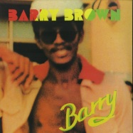 Front View : Barry Brown - BARRY (180G LP) - Burning Sounds / BSRLP930