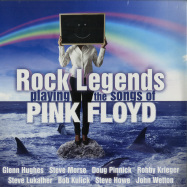 Front View : Various Artists - ROCK LEGENDS PLAYING THE SONGS OF PINK FLOYD (180G 2LP) - Delta Music / N79003