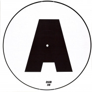 Front View : Markus Homm & Benny Grauer - ALPENSEGLER (ONE SIDED PICTURE DISC) - Acker Dub / Adub038