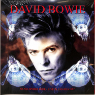 Front View : David Bowie - GLASS SPIDER TOUR - LIVE CANADA 1987 (LTD RED 3LP) - Reel to Reel / BOWIE09 / 9272980