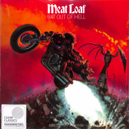 Front View : Meat Loaf - BAT OUT OF HELL (Ltd Clear LP) - Sony Music Catalog / 19439802121