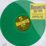 Front View : Big Tone - BUSINESS (GREEN VINYL) - Tres / tr396055