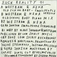 Front View : Westbam & Nena - OLDSCHOOL BABY VERSIONS (VINYL ONLY) - Fuck Reality / Fuck Reality 01