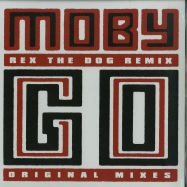 Front View : Moby - GO (REX THE DOG, WOODTICK, ORIGINAL) - Little Idiot / Idiot50