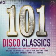 Front View : Various Artists - 101 DISCO CLASSICS (5XCD) - Spectrum Music / umc10108