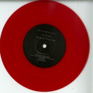 Front View : Nic Fanciulli - SAYING FEAT. DAMON ALBARN (RED COLOURED 7 INCH VINYL, ONE SIDED) - Saved Records / MYHEART004