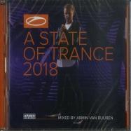 Front View : Armin Van Buuren - A STATE OF TRANCE 2018 (2XCD) - Armada / arma450
