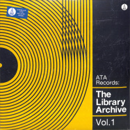 Front View : Various - THE LIBRARY ARCHIVE VOL. 1 (180G LP + MP3) - Ata Records / ATALP020