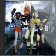 Front View : International Pony - MIT DIR SIND WIR VIER (CD) - MULE ELECTRONIC CD 009