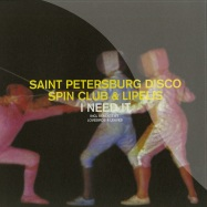 Front View : The Saint Petersburg Disco Spin Club & L - I NEED IT, LOVEBIRDS MIX, LEAVES MIX - Teardrops / TD006