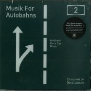 Front View : Gerd Janson Presents - MUSIK FOR AUTOBAHNS 2 (CD) - Rush Hour / RHM 018 CD