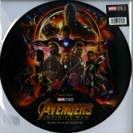 Front View : Alan Silvestri - AVENGERS: INFINTY WARS O.S.T. (PICTURE LP) - Marvel / 8739798