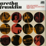 Front View : Aretha Franklin - THE ATLANTIC SINGLES COLLECTION 1967 - 1970 (2X12 LP) - Rhino / 8697067